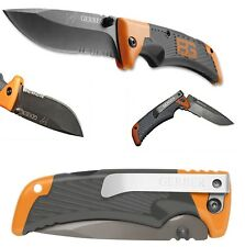 Gerber Bear Grylls SCOUT MESSER Knife 8cm TacHide Griffmaterial Edelstahl-Clip
