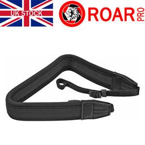 RoarPro Neoprene Camera DSLR Shoulder Neck Strap Black