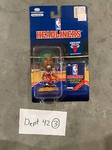 1996 Dennis Rodman Chicago Bulls Corinthian Headliners NBA Basketball Green Hair