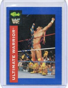 ULTIMATE WARRIOR 1991 CLASSIC AUTOGRAPH CARD HAND SIGNED RARE! WWF SUPERSTAR