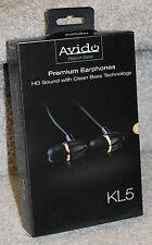 LOT OF 25 Avido In-Ear iPhone iOS Earphones w/ In-Line Remote (Apple Devices)