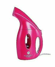 Joy Mangano My Little Steamer Go Mini, Fuchsia Pink