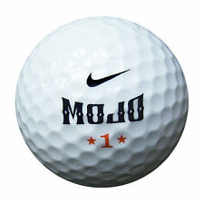 50 Nike Mojo golf balls in meshbag AA/AAAA Lakeballs used balls