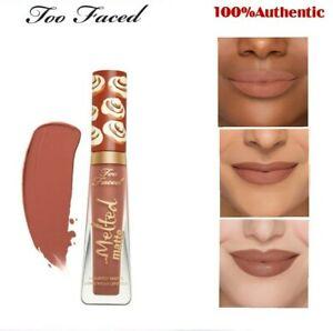 Original Too Faced Cinnamon Bum Melted Matte Liquid Lipstick Girl New In Box