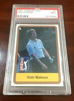 1981 Donruss Tom Watson Rookie PSA NM 7 Golf Card #1 PGA Tour (30147826)  SWEET