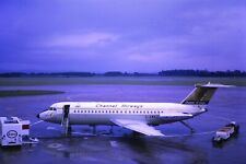 Channel Airways BAC1-11 G-AWEJ  remounted slide