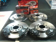 SAAB 9-3 2.8 V6 FROT REAR VENTED BRAKE DISC PADS MINTEX