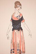 -mode féminine 1920, robe, élégances parisiennes, journal des demoiselles