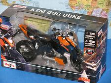 1/12 MAISTO KTM 690 DUKE MOTORCYCLE ***BRAND NEW & RARE***