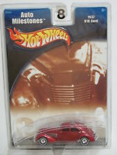 HOT WHEELS - AUTO MILESTONES -  1937  810 CORD RED