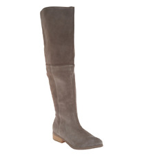 Sole Society Suede Over the Knee Boots Sonoma Mushroom Women's Size 6 Tall Boots