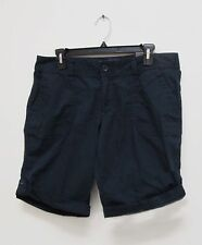 Women's Eddie Bauer Navy Long Short Size 8 New with Tags