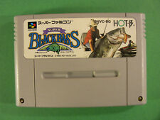 Super Black Bass Fishing (Nintendo Super Famicom SNES SFC, 1992) Japan Import
