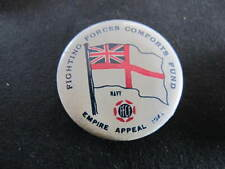 FFCF Fighting Forces Comforts Fund WW2 Badge Navy