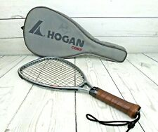 Vtg Marty Hogan Comp Graphite Racquetball Racquet 4 Sl Cowhide Grip Pro-Kennex