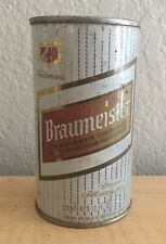 Vintage Braumeister Beer Can Flat Top Breweriana Empty 12 oz