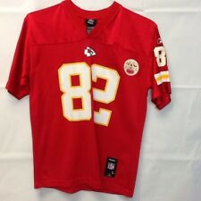 Offical Reebok NFL KC Chiefs Bowe Number 82 Jersey Size Large