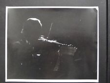 PROFESSIONAL VIOLIN PLAYER IN SHADOW Vtg 1970's ABSTRACT PHOTO