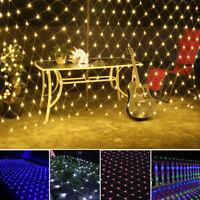 2*3M 200LED Christmas Wedding Xmas Party Decor Fairy String Light Lamp UK