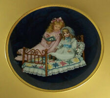 Timeless Friend Elizabeth And Heidi Plate Victorian Children Girls Dolls Quilt