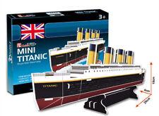 Mini Titanic Ship 3D Puzzles Children Boy Girl Model Paper DIY Educational Toy