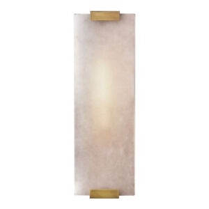 Hand-Carved Alabaster Rectangular Sconce E14 Light Wall Lamp Home Lighting Decor