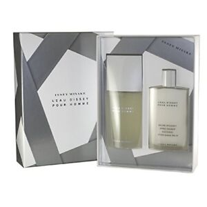 Issey Miyake L'Eau D'Issey Pour Homme EDT Cologne Spray & Shave Balm JUMBO Set