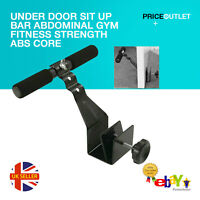 UNDER DOOR SIT UP BAR ABDOMINAL GYM FITNESS STRENGTH ABS CORE