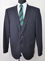 STRELLSON Swiss Wool Navy Blazer UK 44 Coat Jacket Suit Eur 54 Gr. Sakko Herren