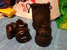Reflex Nikon D3200 + Obiettivo 18-105 mm + Obiettivo 35 mm