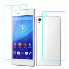 Tempered Glass Front+Back Screen Protector For Sony Xperia Z3 Compact Z Z1 Z2 Z4