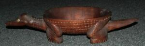 OLD MELANESIAN WOODEN BOWL  - WELL CARVED & SCARCE