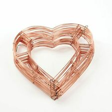 "Pack of 20 Flat Wire Heart Frames 12"" 15"" 18"" Christmas Florist Memorial Wreath"
