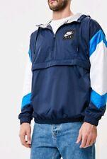77dceb8c3b Large men s Nike Sportswear Air Woven Anorak Jacket blue Navy white 932137  451