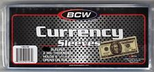 25 Regular Dollar Bill Currency Sleeves - Money Holders- Protectors - Brand New