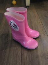 Children wellington boots size 6 UK Pink Girls 🌸