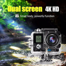 16Mp Hd 4K Dual Screen WiFi Sport Camera 2'' Tft Action Ultra Waterproof Dv Cam
