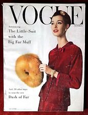Vogue Magazine ~ October 1, 1955 ~ Mary Jane Russell Anne St Marie Horst Radkai