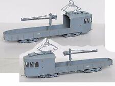 LM-33 Straßenbahn Kranwagen Triebwagen Tram Tramway Streetcar - Bausatz 1:87 H0