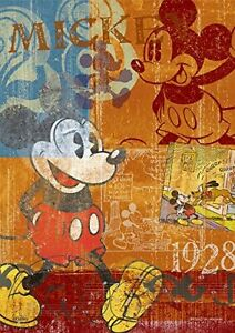 300 Piece Jigsaw Puzzle Wood Puzzle Mickey Mouse (18.2 x 25.7 cm)