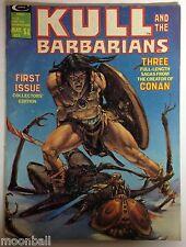 RARE! KULL And The BARBARIANS #1 1975 Neal adams & Wally Wood Art 1st Print VG/F