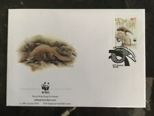 1995 Macau First Day Cover Fdc World Wide Fund For Nature Asian Pangolin C