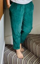 teal / green corduroy chino style trousers from Benetton size 44   UK size 12