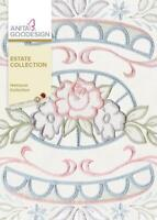 The Estate Collection Anita Goodesign Embroidery Machine Design CD NEW 71AGHD