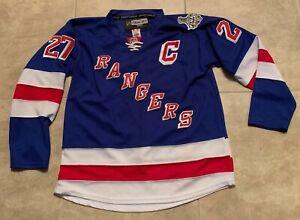 Ryan McDonagh 27 New York Rangers 2014 STANLEY CUP Blue Reebok CCM Jersey 50 XL