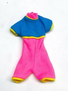 Mattel Barbie Doll Fashion Clothing Vintage WORKOUT SWEAT JOGGING Cycling Outfit
