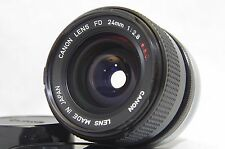 Canon FD 24mm F/2.8 S.S.C. MF Wide Angle Prime Lens SN70120 from Japan