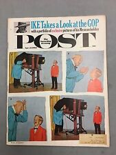 THE SATURDAY EVENING POST APRIL 21, 1962 IKE TAKES A LOOK AT THE GOP