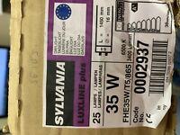 Job Lot 14 Sylvania 35w T5 Fluorescent Tube 865 Daylight 6500k Tubes Lighting