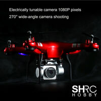 FPV RC Quadcopter Drone 1080p Wide Angle Lens 270° Rotating 2MP HD Camera Gift